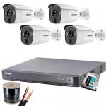 4 cameras DVR kits