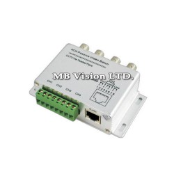 4ch Passive Video Balun Transmitter/Receiver