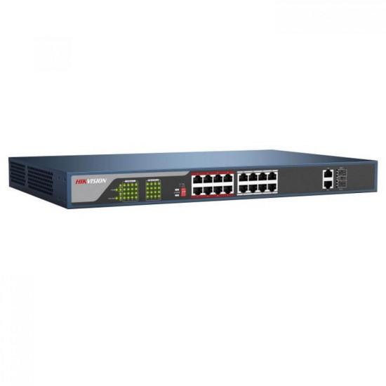 16 Port PoE Switch Hikvision DS-3E0318P-E