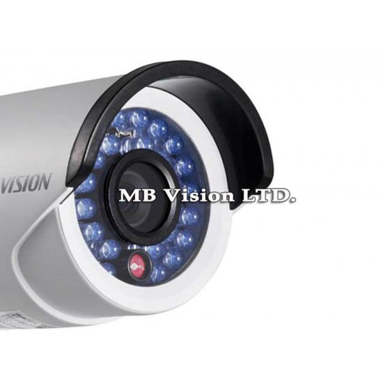 1.3MPix compact bullet IP camera Hikvision with IR up to 30m - DS-2CD2010F-I