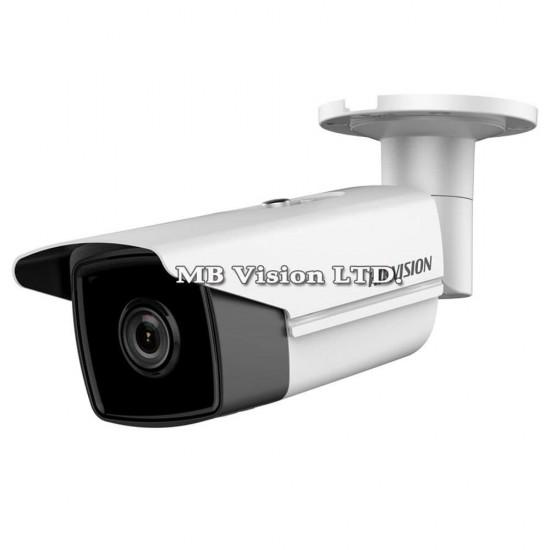 4K HD, 8MP IP camera Hikvision DS-2CD2T85FWD-I5, 4mm, IR 50m