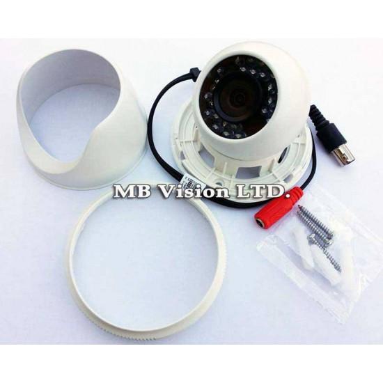 Turbo HD Hikvision DS-2CE56D8T-IT1F, 2MP, 3.6mm lens, IR 20m