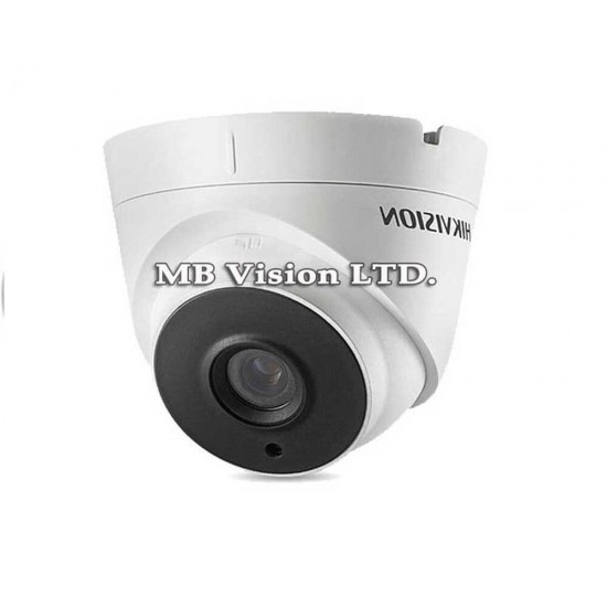 3MP Turbo HD camera Hikvision, fixed lens 2.8mm, IR up to 40m DS-2CE56F7T-IT3