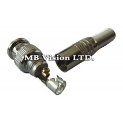 BNC Male Video Plug Coupler Connector for RG59 Cable