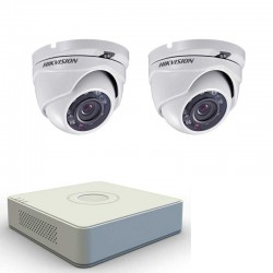 2MP DVR kit Hikvision with 2 cameras