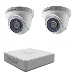 DIY DVR kit, 2 TurboHD indoors cameras + DVR Hikvision