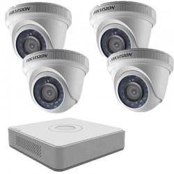 DIY DVR kit, 4 TurboHD indoors cameras + DVR Hikvision