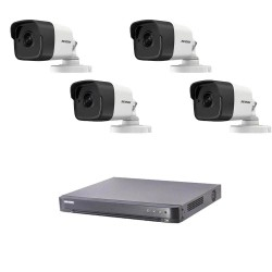 5MP TurboHD DVR kit Hikvision with 4 cameras