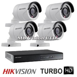 4CH Turbo HD HDTVI DVR kit Hikvision